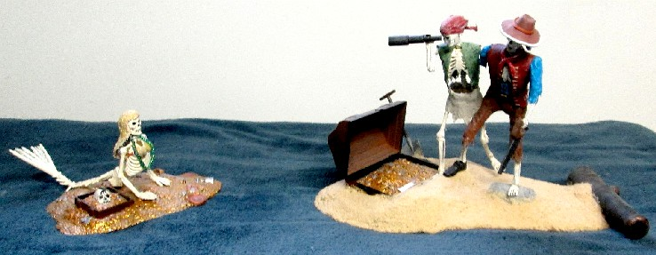 The Pirate Surgeon's Journal: Pirates Livingroom MPC POTC Models